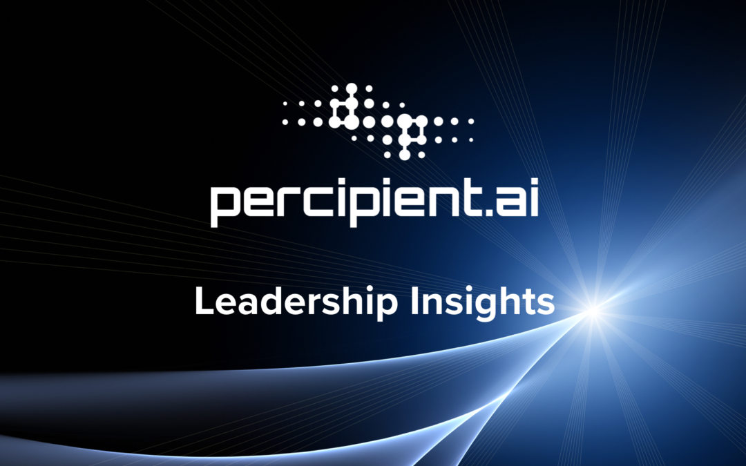 Percipient.ai Founder & CEO Balan Ayyar on the Value of Human and Machine Teaming for Mission Success